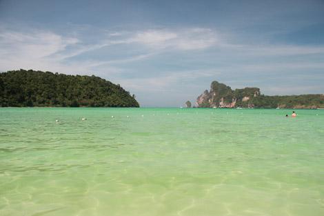 Une plage comme on n'aurait même pas oser en rêver