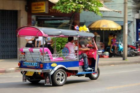 Tuk tuk de Bangkok, la grande classe !