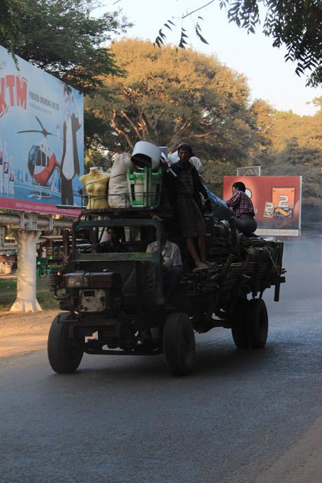 Un tracteur ou un pick-up ?