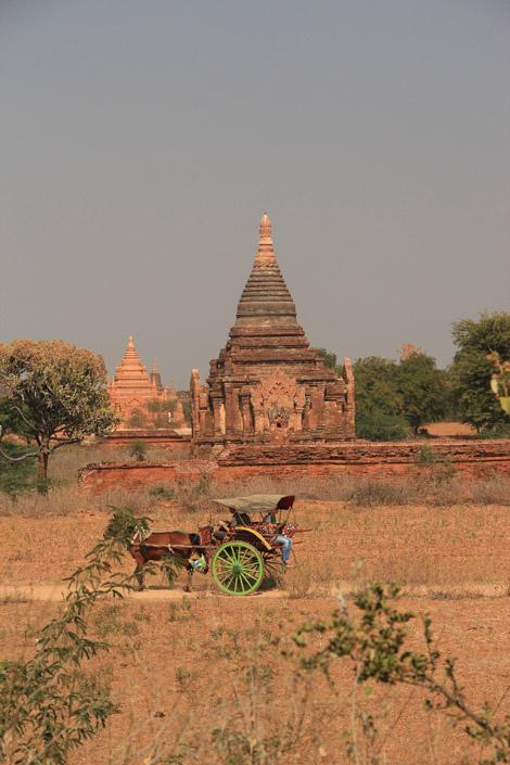 Promenons nous dans Bagan !