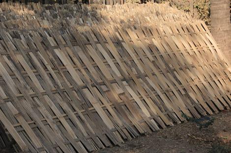 Bambou tressé