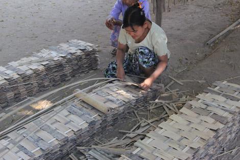 Tresser du bambou