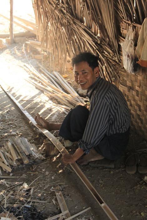 Tressage du bambou