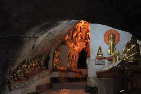 Grotte aux bouddha