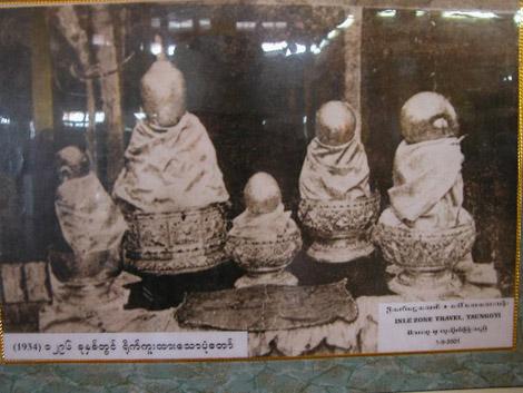 Les statues de Bouddha à l'origine…