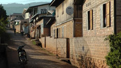 Pindaya, rue