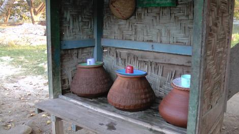 De l'eau pour tout le monde au Myanmar !