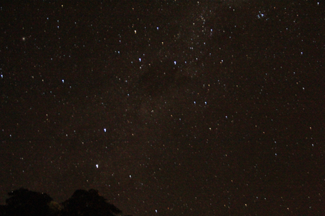 La nuit étoilée…