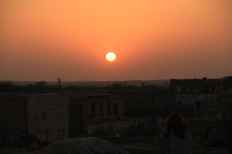 Coucher de soleil sur Khuri