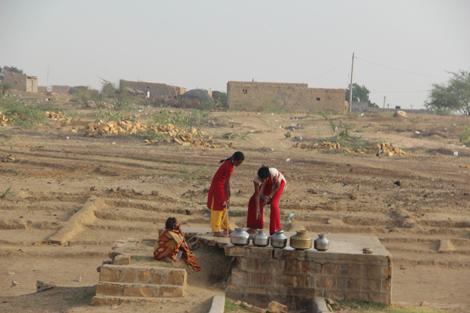Le puits du village