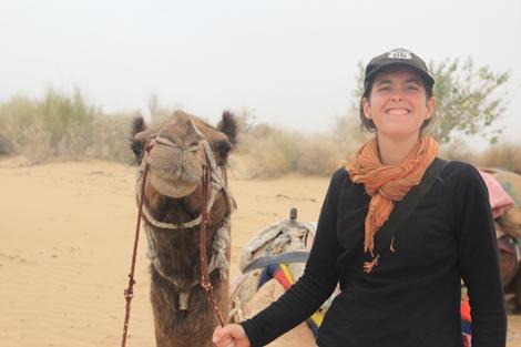 Certains (chameaux) Indiens sont plus accueillants que d'autres!