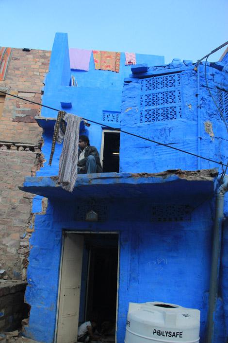 Maison bleue de Jodhpur