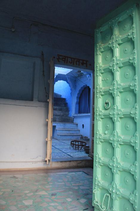 Intérieur d'une maison de la vieille ville