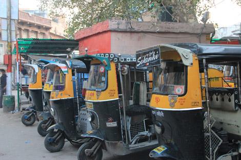 Auto rickshaw indien
