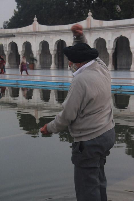 Homme de confession sikh