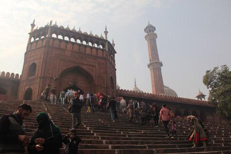 Jama Masjid, la plus grande mosquée d'Inde