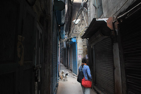 Old Delhi, ville sombre