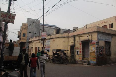 Des rues d'Agra
