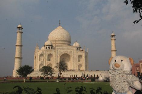 Voici le Taj Mahal