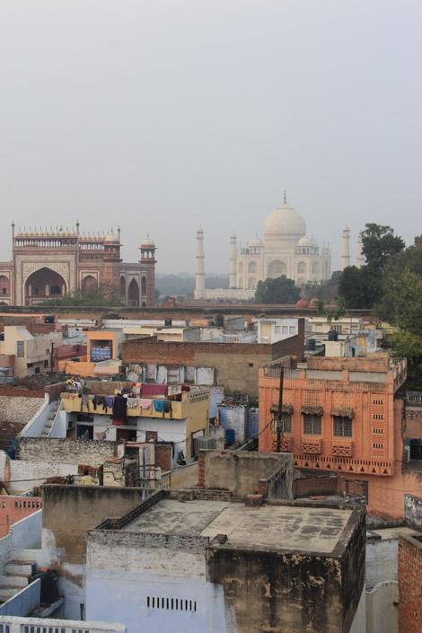 Agra, la ville, le site