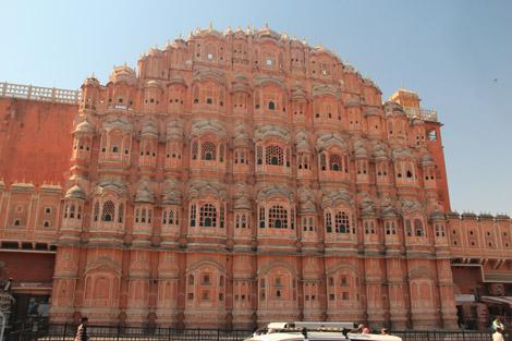 Le palais des vents Jaipur
