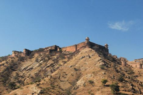 Montagnes de Jaipur