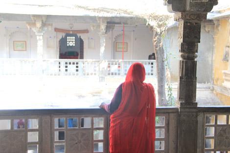 Cour et sari