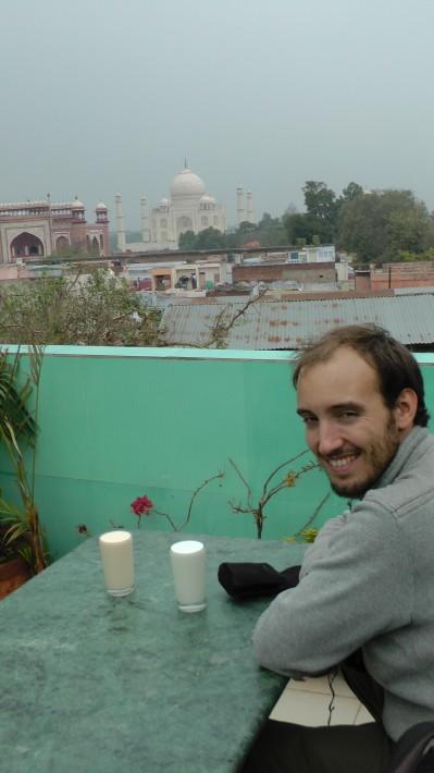 Depuis une des très nombreuses terrasses du Bazar