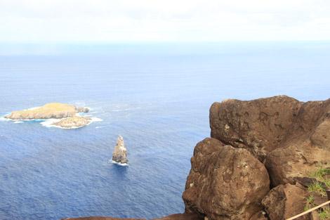 Culte de l'homme oiseau à Orongo, Rapa Nui, île de Pâques