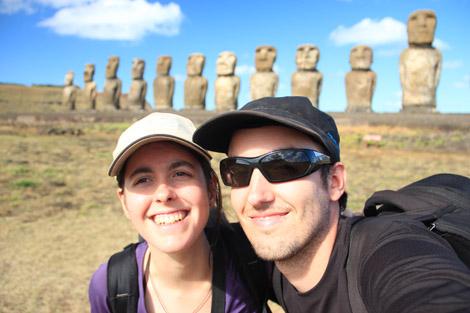Tongariki, Rapa Nui, île de Pâques