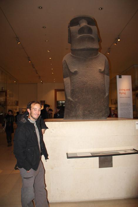 British Museum et son moaï