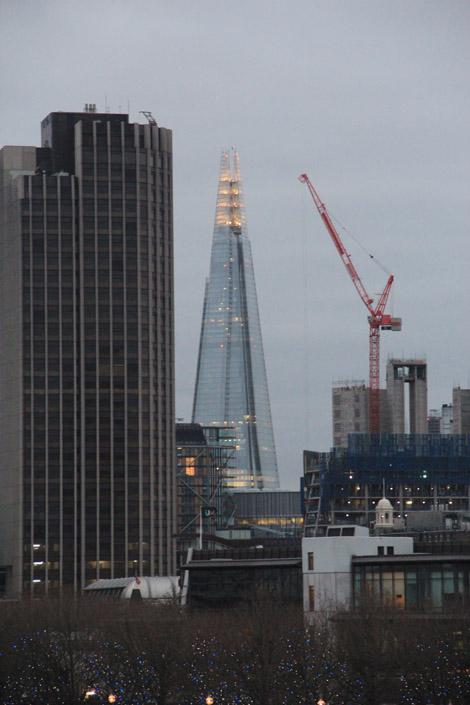 La nouvelle tour de Londres : le shard