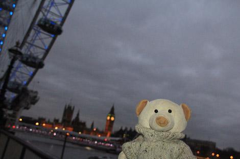 Nestor découvre la capitale britannique
