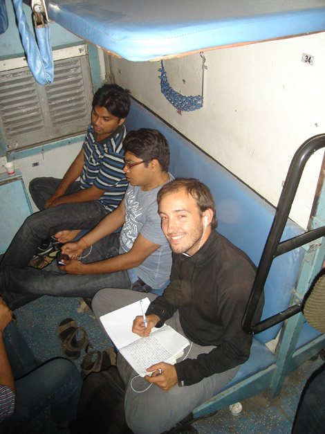 Nous étions en compagnie de jeunes étudiants de Delhi fort sympathiques