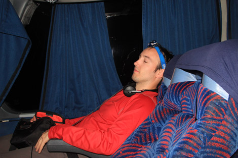 #5/144 : Bus entre Puerto Iguazu et Buenos Aires