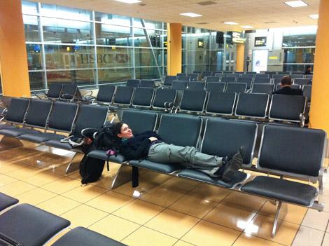 Élodie a essayé la sieste à Lima