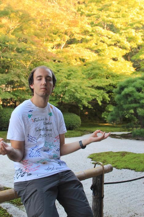 Temple zen japonais