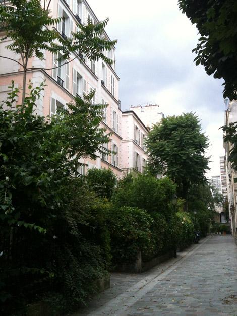 Quartier près de rue Violet