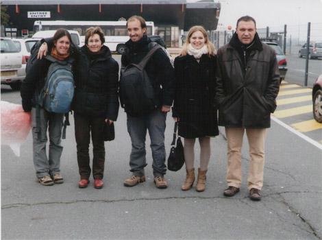 Ouistreham, retour en France, en ferry depuis Portsmouth