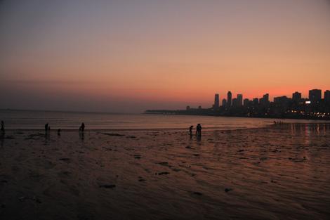 Plage de Mumbai