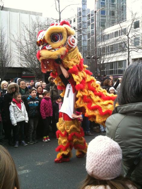 Nouvel an chinois dans le 13ème arrondissement de Paris