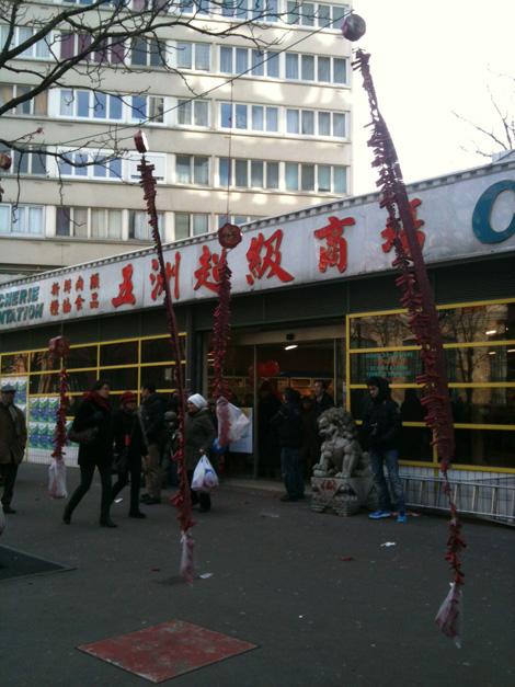 Nouvel an chinois Paris 2014